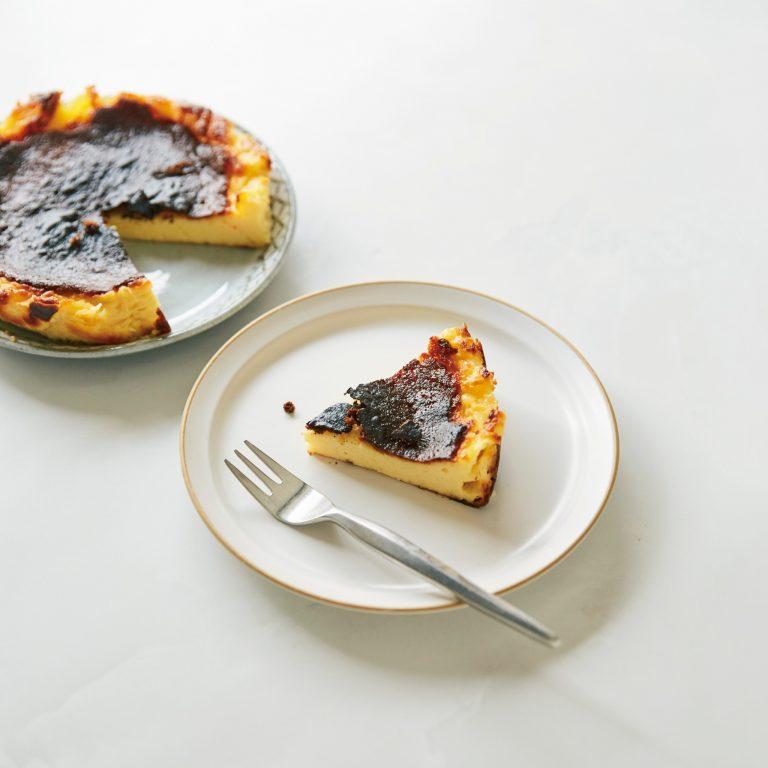 「ソルティバスクチーズケーキ」レシピ