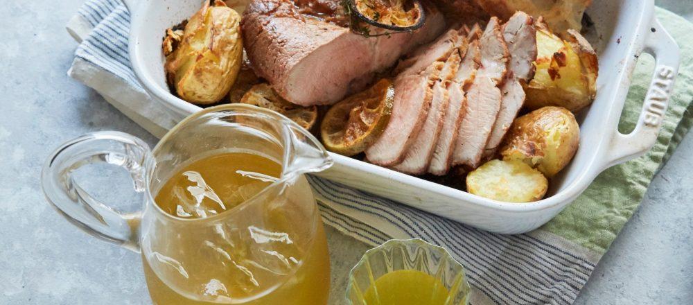 オーブンで簡単レシピ!スパイシーな「ローストポーク」&贅沢な一杯「花茶」のおうちレシピ
