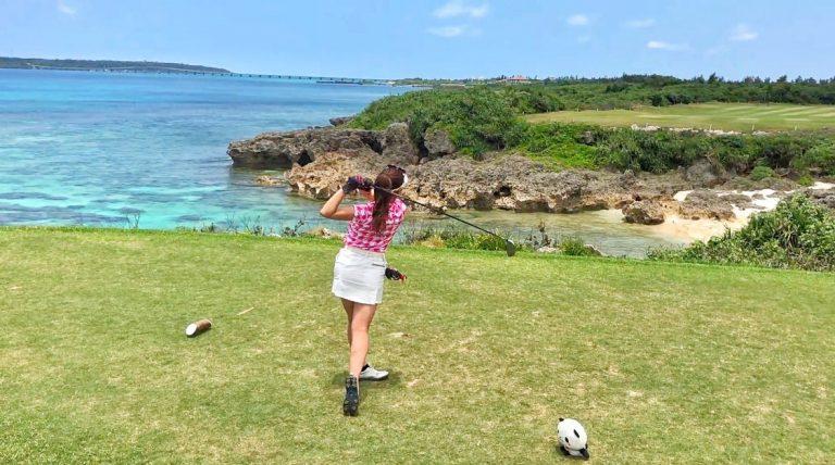 海外でゴルフをしている気分になれます。
