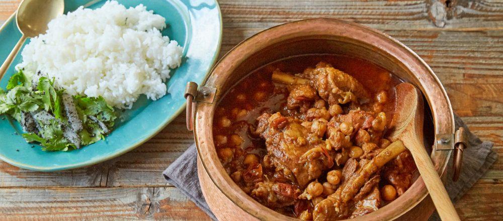 おうちで簡単本格化カレーにチャレンジ!「チキンとひよこ豆のスパイス煮込み」レシピ