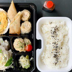 「よだれ鶏弁当」680円(昼限定)。