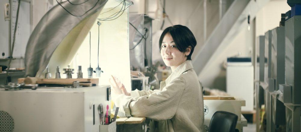 【江戸切子職人】三澤世奈さんのストーリー/「自分のやりたいことに素直に向き合い続ける」