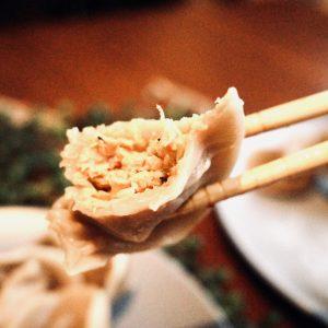 鶏 白菜と生姜。