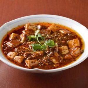 「特製麻婆豆腐」1,300円。