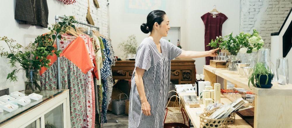 台湾の大人気コーディネーター・青木由香さんが、セレクトショップ〈你好我好 廟口店〉をニューオープン。