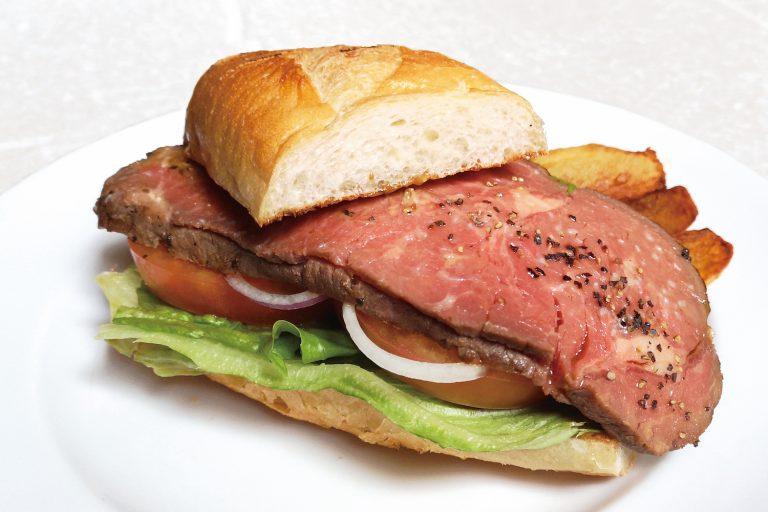 02.Sirloin Roast beef Sandwich