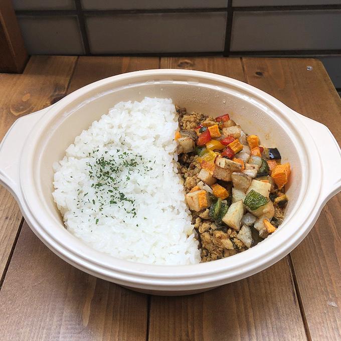 きざみ野菜のチキンキーマ-3