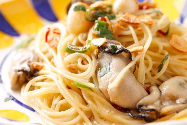 牡蠣オイルペペロンチーノ