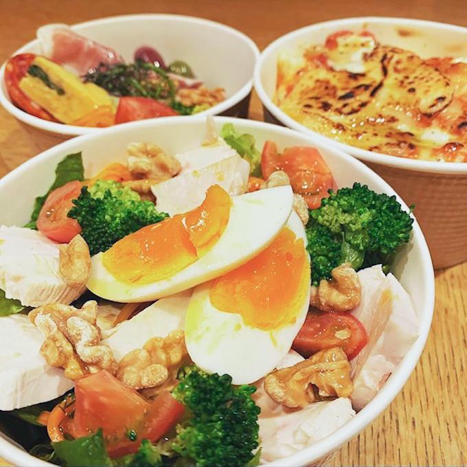 「サラダ」500円。