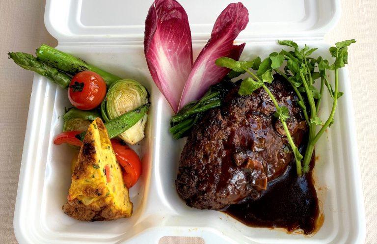 ㈰37steakhouse_Hamburg Steak_1500yen