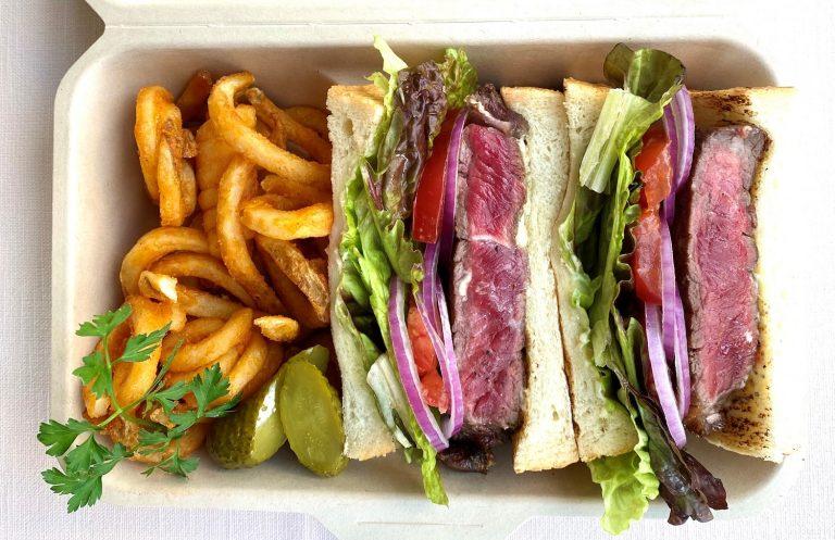 ㈰37steakhouse_Rib Steak Sandwich_2300yen