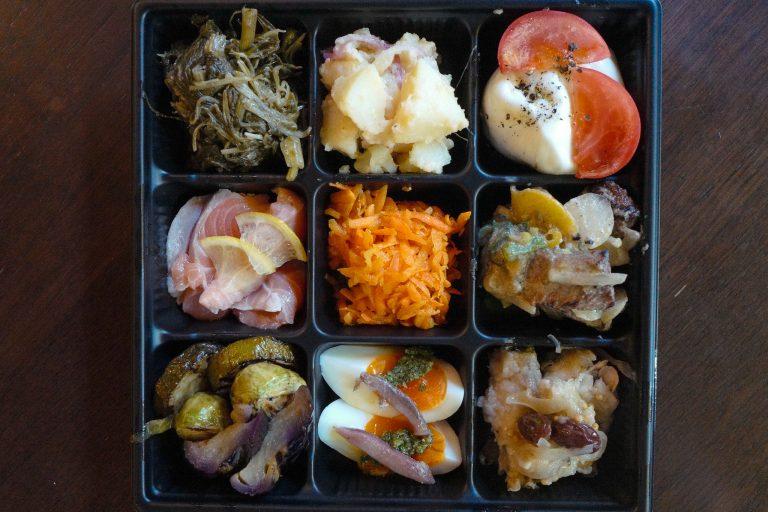 前菜の盛り合わせ9種