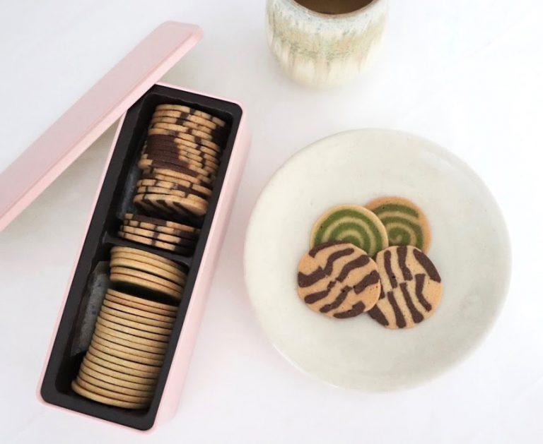 〈山本道子の店〉 の「マーブルクッキー」麹町 半蔵門