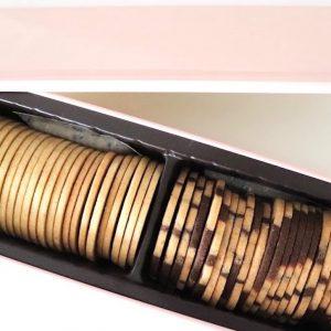 ピンクの缶の予約制クッキー。〈山本道子の店〉 の「マーブルクッキー」をお取り寄せ。