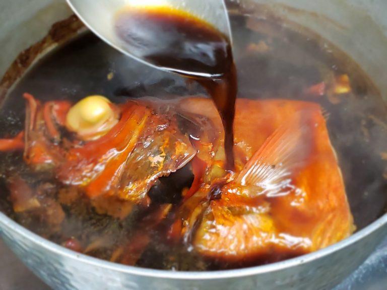 「金目鯛の煮付け」3,000円
