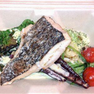 「本日の魚とグリル野菜のタプナード」1,000円(税込)。※ランチメニュー