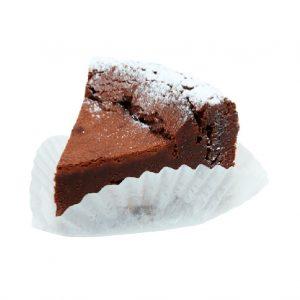 スイス・フェルクリン社のチョコレートを使ったガトーショコラ350円。