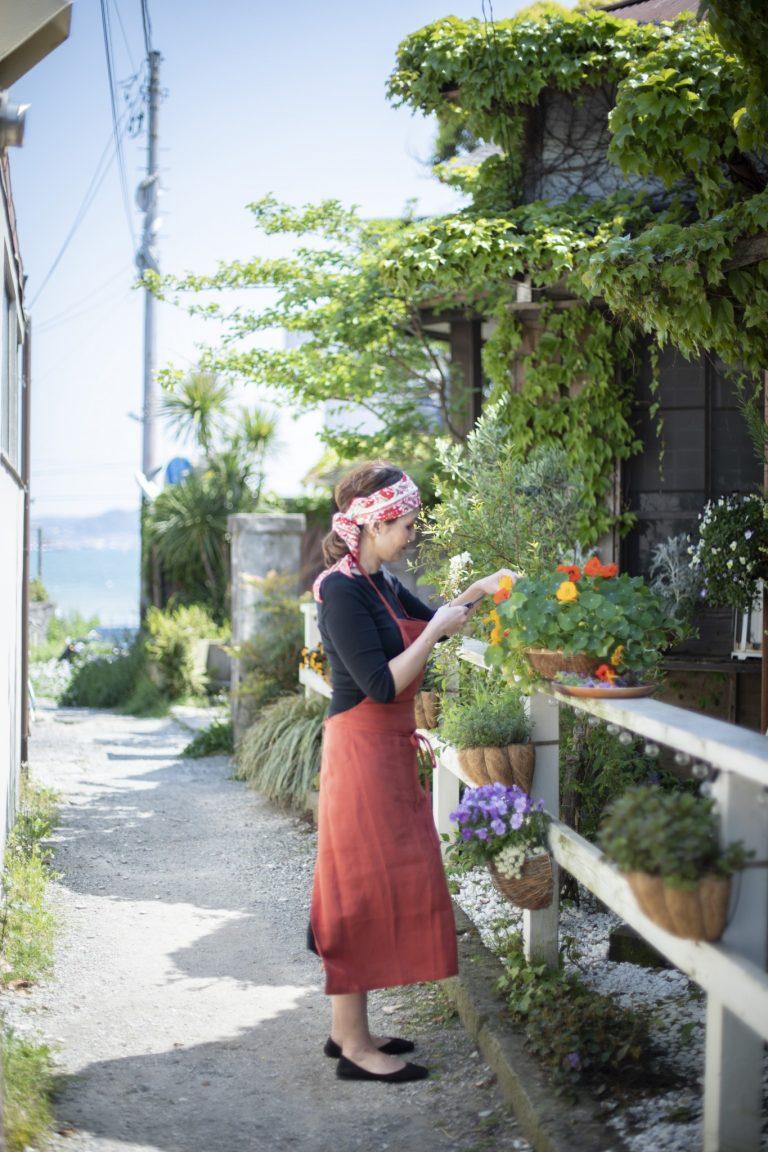 〈カフェ坂の下〉店主/真子舞さん