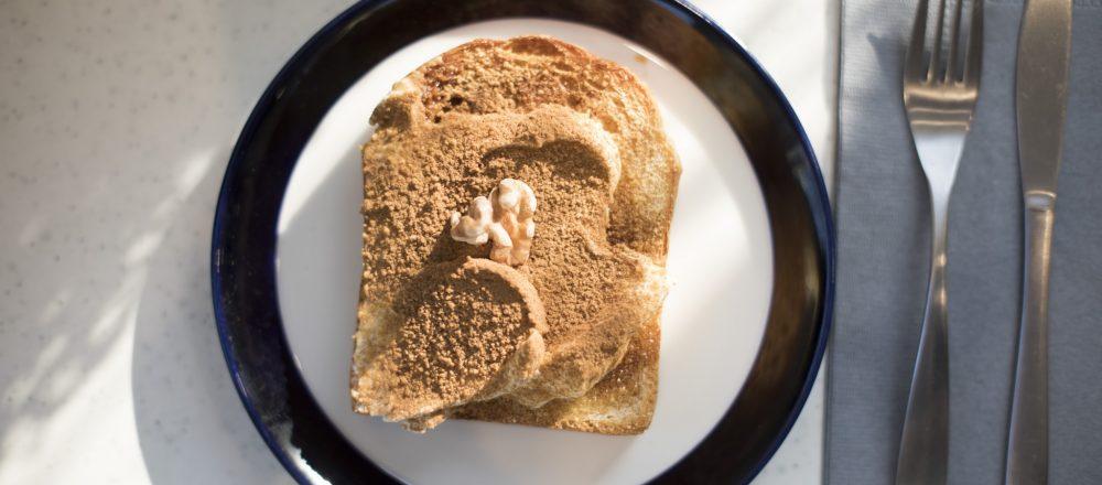 〈パラダイスアレイ〉の食パンでつくるシナモントースト!