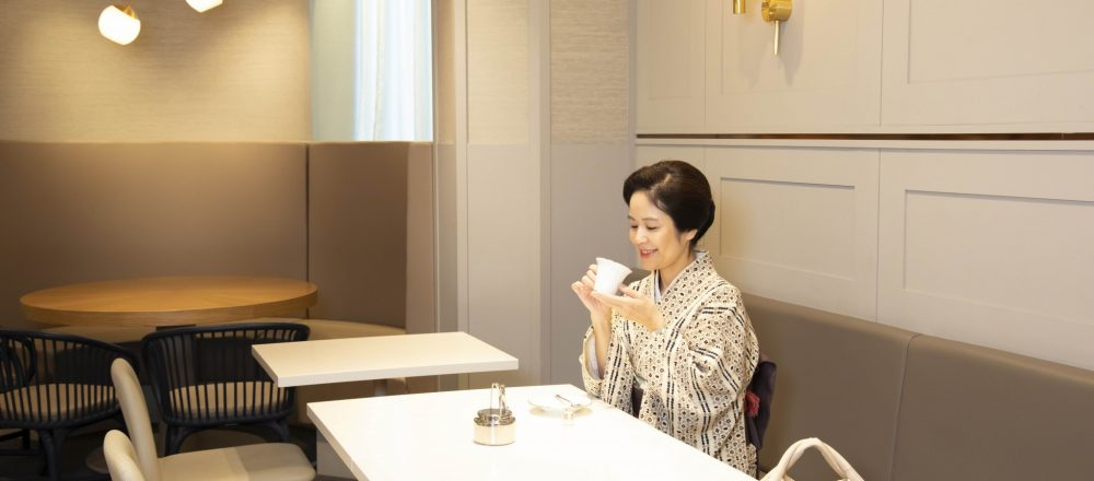 今年で開店90年の〈銀座三越〉へ。老舗呉服店の女将・千谷美恵さんのデイリー使いに密着!