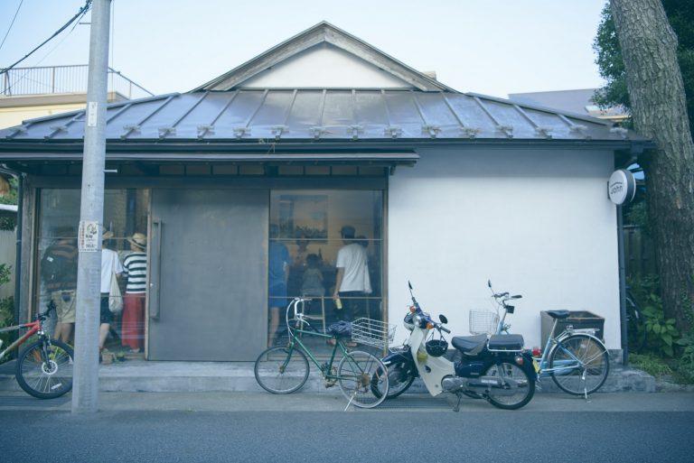 店舗はもともとおでん屋さんで、そのまま使っている。