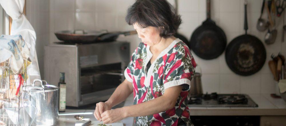 料理の腕もプロ級の水本さん。さっと作る料理は絶品!