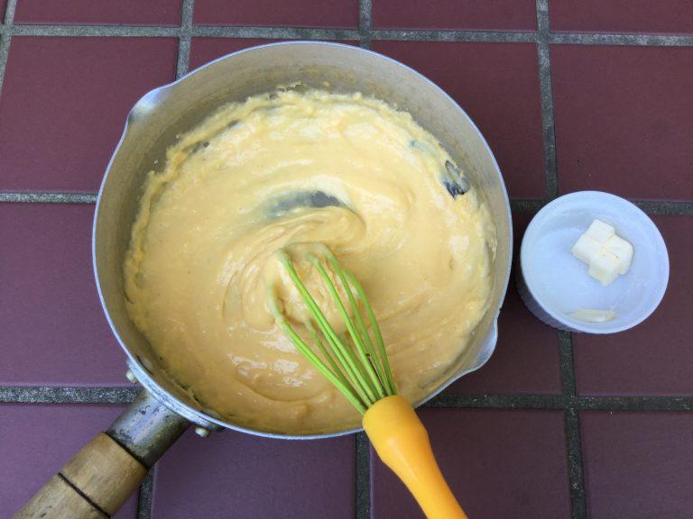「カスタードクリームのデザート」レシピ