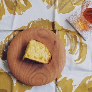 「カボチャとチーズ」。