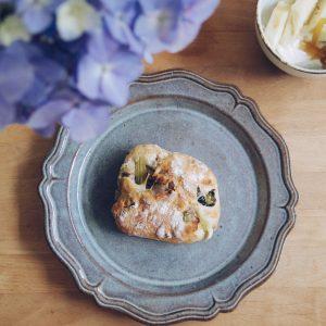 「小松菜とクルミのリュスティック」。