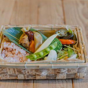 本日のお弁当(1,200円)。