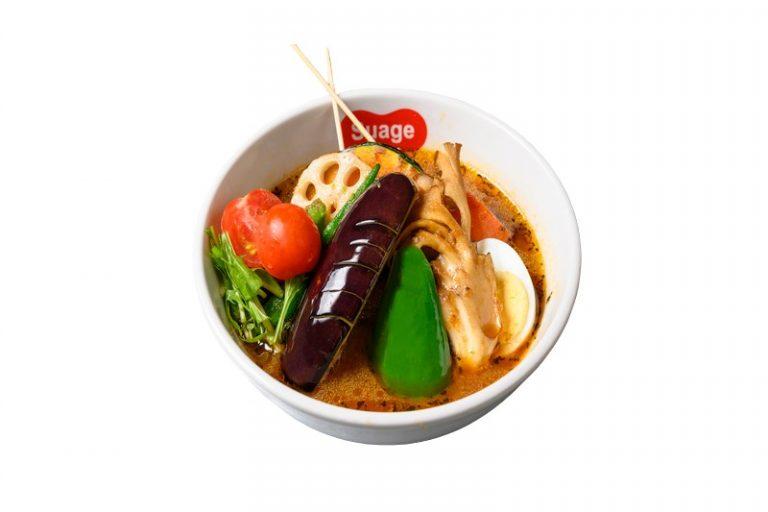 〈Hokkaido Soup Curry Suage 丸の内店〉丸の内