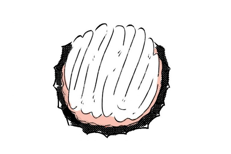 〈POMPON CAKES BLVD.〉のレモンチーズパイ