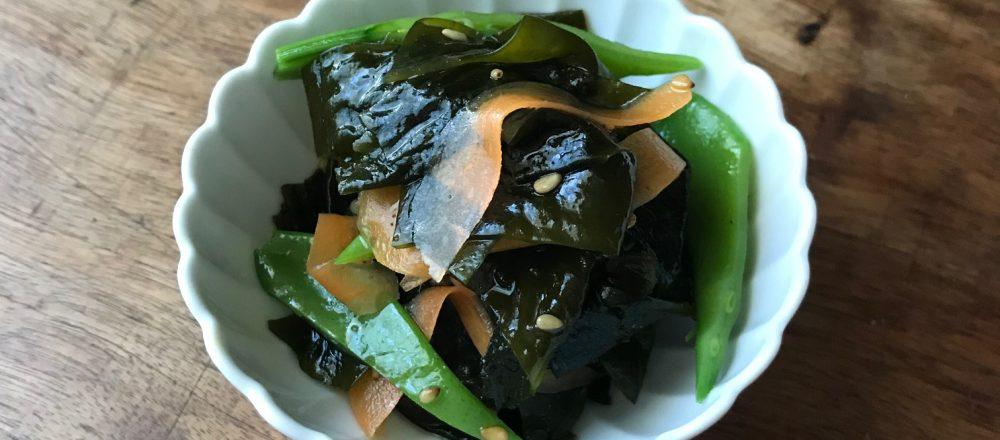 たった10分でできる!栄養たっぷりの常備菜「鎌倉産わかめのきんぴら」レシピ。
