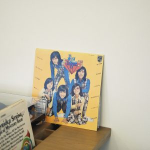 フィンガー5、ビージーズと各部屋ごとのユニークなレコードセレクション。