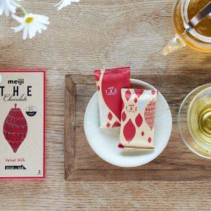 「ベルベットミルク」×中国茶