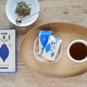「コンフォートビター」×ほうじ茶