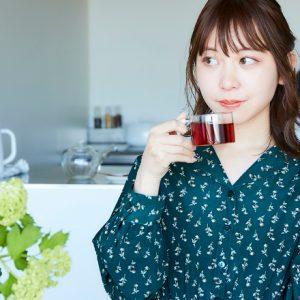 """わたし時間の""""おとも""""はチョコレート!/「お茶の時間のおとも。」モデル・木村ミサさん"""