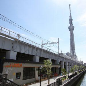 隅田川沿いにニューオープンの〈東京ミズマチ〉をレポート。
