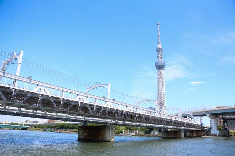 東京スカイツリー・浅草連絡歩道橋 すみだリバーウォーク。