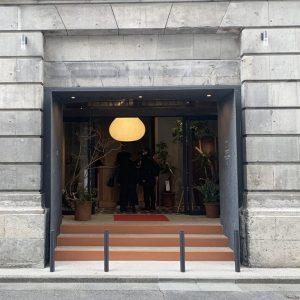 大正12年築の元第一銀行だった建物をリノベーションしている複合施設の〈K5〉。〈B〉は、こちらの地下1階にある。