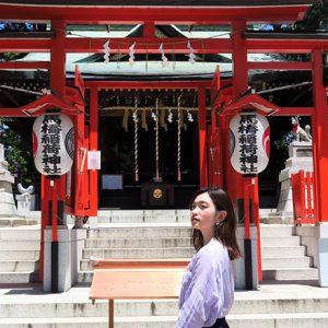 「馬橋稲荷神社で昇龍から上昇運をいただこう」/MARIKOの、神社 de デトックス!