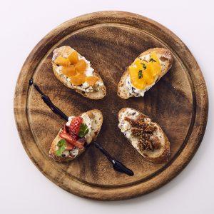 料理家さんたちが提案!ご当地おみやげのアレンジレシピ 「素焼きミックス大豆のフルーツカナッペ」