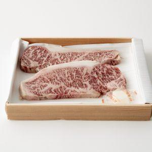 〈JA全農ミートフーズ〉の博多和牛ロースステーキ