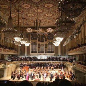 国内外のさまざまな土地のホールで演奏をしています。@コンツェルトハウスベルリン
