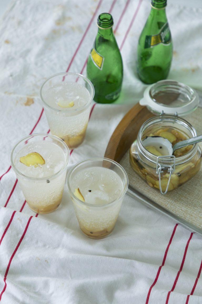 「生姜のシロップ」のレシピ