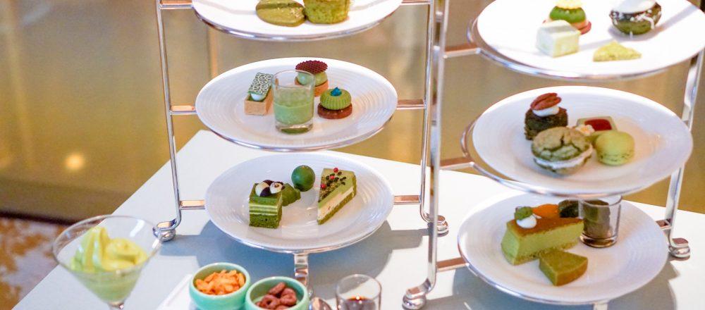 <span>プライベートブッフェで抹茶スイーツをゆったりと味わえる!</span> 全24種類のスイーツを好きなだけ。〈ANAインターコンチネンタルホテル東京〉の「抹茶コレクション2020」開催!