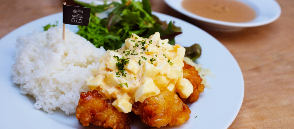 東京・広尾で宮崎名物「チキン南蛮」をいただける!リノベカフェ〈tenement〉へ。/Alice in Cafeland