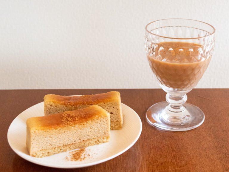 銀座コージーコーナー_チーズスフレ_午後の紅茶レモンティー4