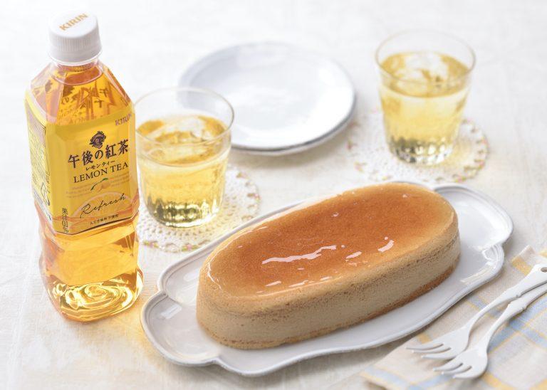 銀座コージーコーナー_チーズスフレ_午後の紅茶レモンティー7