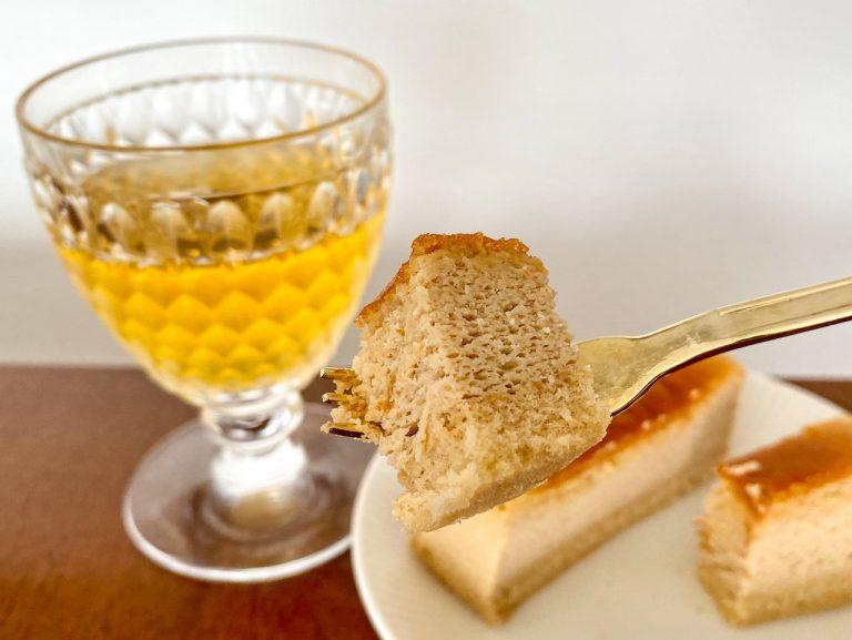 銀座コージーコーナー_チーズスフレ_午後の紅茶レモンティー5